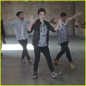 Watch Sam Tsui Dance To The 'Beat Of The Drum' In Exclusive 'Dance Camp' Clip!