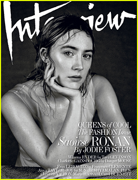 Saoirse Ronan Speaks to 'Interview' About What Worries Her About Her Oscar Nomination