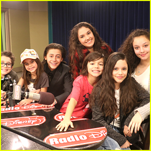 'Stuck In The Middle's Diaz Family Visits Radio Disney!