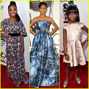 Yara Shahidi Celebrates Big 'black-ish' Win at NAACP Image Awards 2016 with Skai Jackson