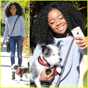 Skai Jackson Dishes On Her Selfie Game