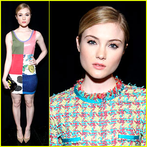 Skyler Samuels Says Jeremy Scott 'Brings Fashion to Life' After NYFW 2016 Show