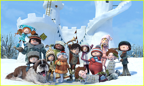 The 'Snowtime!' Kids Show Off Their Epic Fort In Exclusive Photo Diary