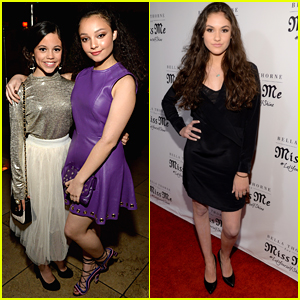 Stuck In The Middle's Jenna Ortega & Kayla Maisonet Party at Miss Me's Spring Campaign Launch Event