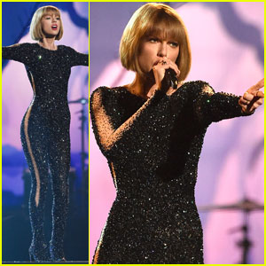 Taylor Swift Slays Grammys 2016 Opening With 'Out of the Woods' - Watch Now!
