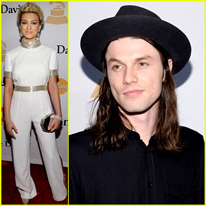 Tori Kelly & James Bay Hit Up Clive Davis' Grammys Party Before the Big Show!