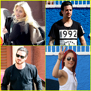Witney Carson, Val Chmerkovskiy & More 'DWTS' Pros Gear Up For Season 22