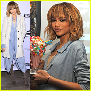 Zendaya Hosts Secret Fan Event In NYC