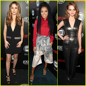 Zoey Deutch & Keke Palmer Hit Vanity Fair's Young Hollywood Party with Ariel Winter