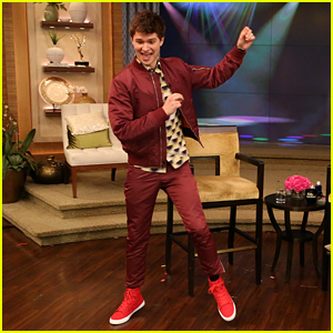 Ansel Elgort Tackles Live Dance Challenge on 'Live! With Kelly & Michael - Watch Now!