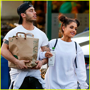 Ariana Grande Holds Hands with Boyfriend Ricky Alvarez at Whole Foods