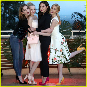 Dove Cameron, Bailee Madison & Katherine McNamara Have Glam Girl's Night Out with Ted Baker