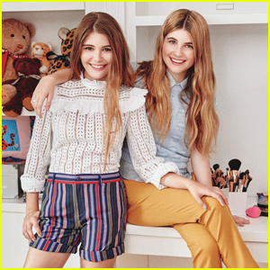 Beauty & Fashion Bloggers Bella & Olivia Giannulli Talk Shop With 'Teen Vogue'