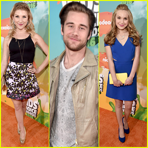 Emmy Buckner & Brady Reiter Step Out in Style For Kids Choice Awards 2016