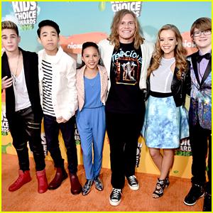 Breanna Yde & 'School of Rock' Cast Rock Out Kids Choice Awards 2016 Orange Carpet