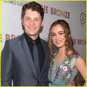 Brett Dier Supports Girlfriend Haley Lu Richardson at 'The Bronze' Premiere