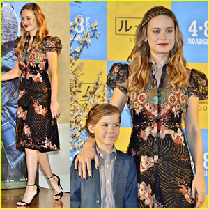 Jacob Tremblay Hits Tokyo with Brie Larson For 'Room'