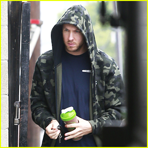 Calvin Harris Heads to the Gym After Las Vegas Performance