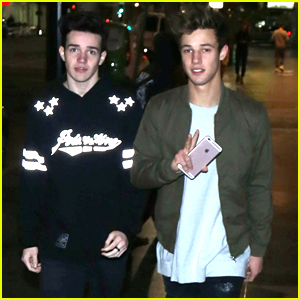 Cameron Dallas Says He Needs A Girlfriend After Dinner with Aaron Carpenter