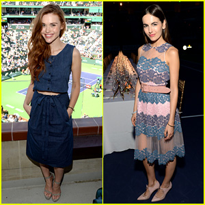 Holland Roden & Camilla Belle Spend the Weekend at BNP Paribas Open!