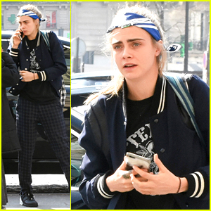 Cara Delevingne Beats Paparazzi at Their Own Game in Paris