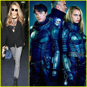 Cara Delevingne Suits Up For First Promo Image of 'Valerian'
