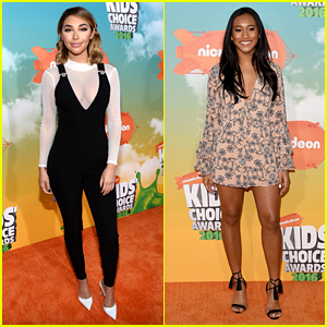 Chantel Jeffries & Sydney Park Are Lovely Ladies on Kids Choice Awards 2016 Orange Carpet