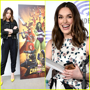 Chloe Bennet Promotes Marvel's Contest of Champion Mobile Game Ahead of WonderCon 2016