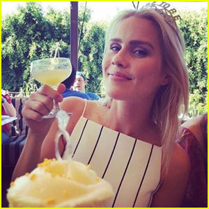 Claire Holt bridal shower