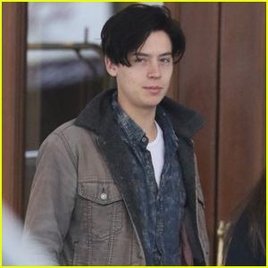 Cole Sprouse Greets Fan Before More 'Riverdale' Filming in Vancouver