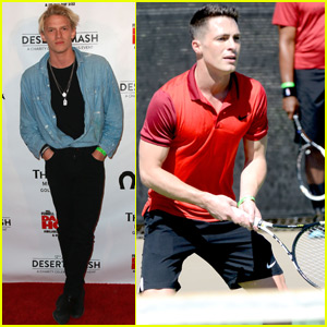Colton Haynes & Cody Simpson Support St. Jude at Tennis Tournament