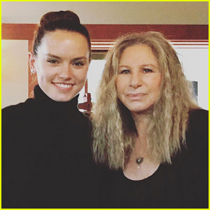 Daisy Ridley Reveals Her Mystery Duet Partner Is Barbra Streisand!