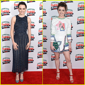 Daisy Ridley & Maisie Williams Turn Heads at Jameson Empire Awards 2016