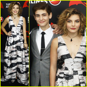 Gotham's David Mazouz & Camren Bicondova Attend 'Batman v. Superman' Premiere in NYC