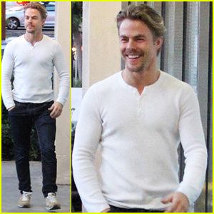Derek Hough Dances with Gina Rodriguez in New Video - Watch Now!