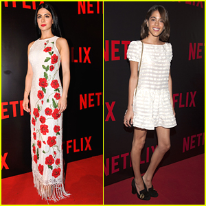 Emeraude Toubia & Martina Stoessel Stun at Netflix Red Carpet Event in Argentina