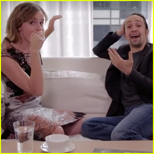 Emma Watson Beatboxes While 'Hamilton' Star Lin-Manuel Miranda Raps About Feminism