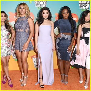 Fifth Harmony Rock The Kids Choice Awards 2016 Orange Carpet