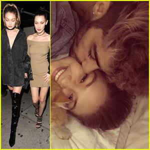 Gigi Hadid & Zayn Malik Cuddle Up In New Instagram Pic