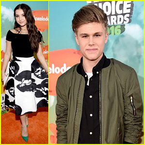 Isabela Moner & Owen Joyner Join Forces on Kids Choice Awards 2016 Orange Carpet