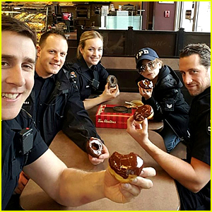 Jacob Trembaly Goes to Work With His Policeman Dad!