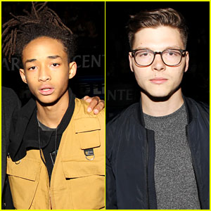 Jaden Smith & Kevin Garrett Attend Rihanna's Concert!
