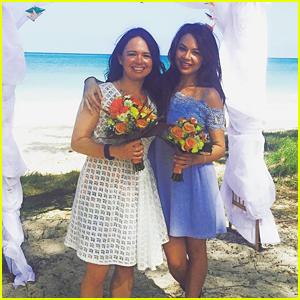Janel Parrish Celebrates Sister Melissa's Wedding!