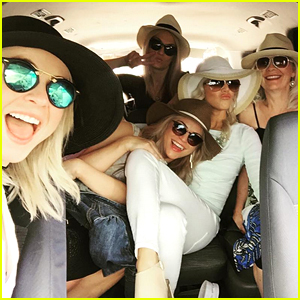 Julianne Hough Joins Mom & Sisters for Sunny Stay in Cabo!