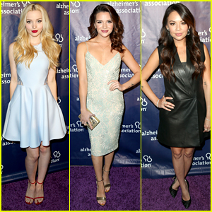 Dove Cameron & Katie Stevens Attend Alzheimer's Association Benefit
