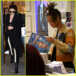 Kendall Jenner, Hadid Sisters & Jaden Smith End Fashion Week With Shopping Trip
