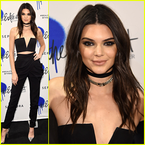Kendall Jenner Gets Glam at Estee Edit Collection Sephora Launch