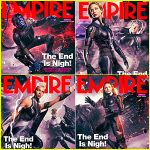 Kodi Smit-McPhee, Jennifer Lawrence & Alexandra Shipp Grab 'Empire' Covers for 'X-Men: Apocalypse'