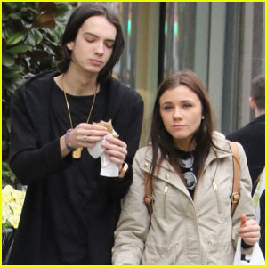 Kodi Smit-McPhee Hangs Out With His Girlfriend in Vancouver