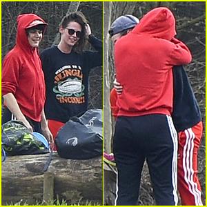 Kristen Stewart Gets Cuddly With Rumored Girlfriend Soko